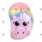 Tangle Teezer Detangling Hairbrush Mini Rainbow Unicorn-Wet&Dry