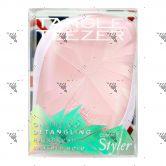 Tangle Teezer Detangling hairbrush Compact Light Pink-Smashed Holo