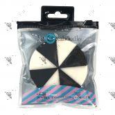 Kit&Kaboodle Latex Wheel Cosmetic Sponges 1 pack