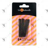 Kit&Kaboodle 24 Wavy Hair Pins Pack