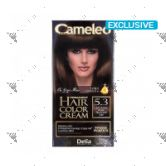 Cameleo Perm Hair Colour Cream 5.3 Light Golden Brown