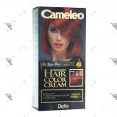 Cameleo Perm Hair Colour Cream 7.44 Copper Red