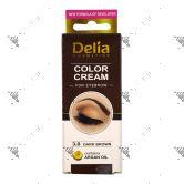 Delia Eyebrow 3.0 Dark Brown Colour Cream 15ml