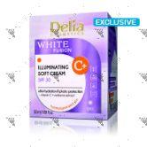 Delia White Fusion illuminating Soft Cream Day SPF 30 50ml