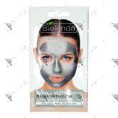 Bielenda Silver Detox Cleansing Metallic Face Mask 8g