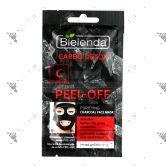 Bielenda Carbon Detox Peel-Off Purifying Charcoal Face Mask 2x6g