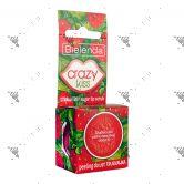 Bielenda Crazy Kiss Sugar Lip Scrub 15g Strawberry
