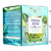 Bielenda Fresh Juice Detoxifying Cream Booster 50ml Lime