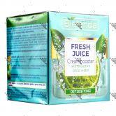 Bielenda Fresh Juice Detoxifying Cream Booster 50ml Lime