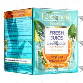 Bielenda Fresh Juice Moisturising Cream Booster 50ml Orange