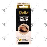 Delia Eyebrow 1.0 Black Colour Cream 15ml