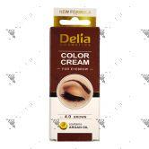Delia Eyebrow 4.0 Brown Colour Cream 15ml