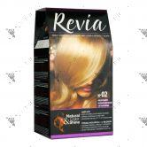 Revia Hair Color No 02 Bright Blonde