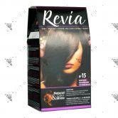 Revia Hair Color No 15 Ebony Black