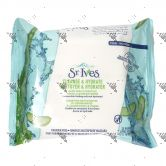 St.Ives Cleanse & Hydrate Facial Cleansing Wipes 25s