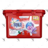 Breeze 3-in-1 Power Laundry 18 Capsules Fresh Lavender
