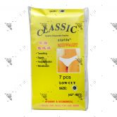 Classic Disposable Low Waist Panty 7s XL