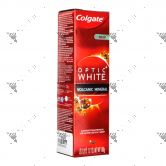 Colgate Toothpaste Optic White 100g Volcanic Mineral
