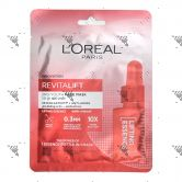 L'Oreal Revitalift Pro-Youth Face Mask 1s Skin Elasticity+ Anti-Aging