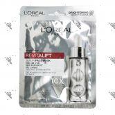 L'Oreal Revitalift Serum Face Mask 1s Skin Radiance