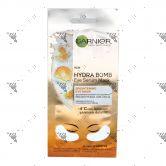 Garnier Hydra Bomb Eye Serum Mask 1 Pair Patches Brightening