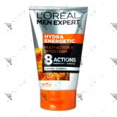 L'Oreal Men Hydra Energetic Detox Facial Foam 100ml