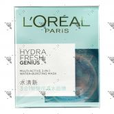 L'Oreal Hydra Fresh Genius Multiactive 3in1 Water-Bursting Mask 100ml