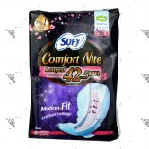 Sofy Comfort Nite Slim Wing 42.5cm 8s