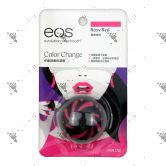 EOS Lip Balm Color Change Rosy Red 7g