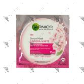 Garnier Sakura White Serum Mask 1S
