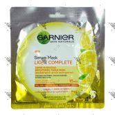 Garnier Light Complete Serum Mask 32g 1s