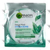 Garnier Hydra Bomb Serum Mask 32g 1s Green Tea