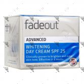 Fade Out Advanced Whitening Day Cream SPF25 50ml