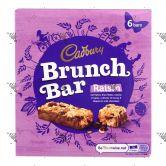 Cadbury Brunch Bar Raisin 1Box 6Bars