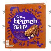 Cadbury Brunch Bar Chocolate Chip 1Box 6Bars
