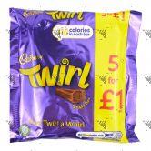 Cadbury Twirl 1Pack (5x21.5g)