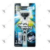 Gillette Mach 3 Razor 1s + Dispenser Refill 1s