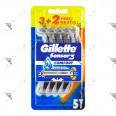Gillette Sensor 3 Disposable Razor 5s