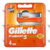Gillette Fusion 5 Power Cartridge 4s