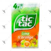 Tic Tac Lime & Orange 16gx4pack