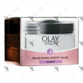 Olay Vitality Renewing Night Mask 50ml