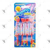 Chupa Chups Melody Pops Lollipops Strawberry Flavour 4s