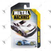 Zuru Metal Machines Cars 1s for 3yrs+ White Fang
