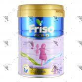 Friso Gold (Stage 4) Milk Powder 900g (From >3Years) LockNutri