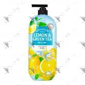 On The Body Bodywash 865ml Lemon & Green Tea