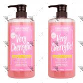 Nat.Chapt. Exfoliating Gel Cherry Blossom Body Scrub 1000g (x2)