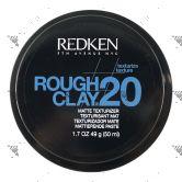 Redken Rough Clay 20 Matte Texturizer 50ml Black