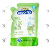Kodomo Head To Toe Wash 0+ Refill Mild Original 380ml
