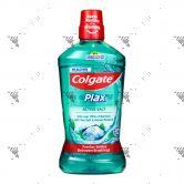 Colgate Plax Mouthwash 1L Active Salt