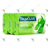 Palmolive Natural Soap Milk and Rose Petals 3X80g